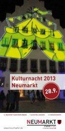 Neumarkter-Kulturnacht-2013 - Stadt Neumarkt in der Oberpfalz