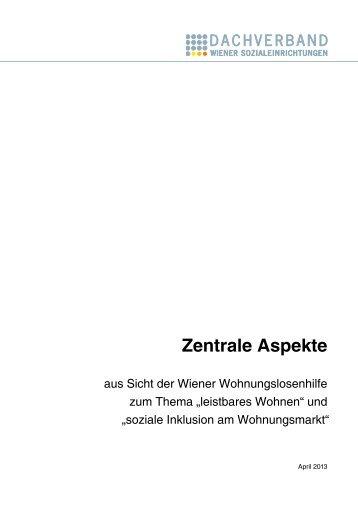 Das Positionspapier (2013) als pdf - neunerHAUS