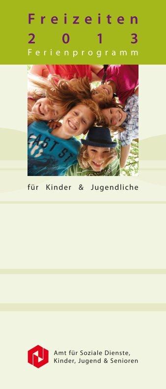 Freizeiten 2013 web - Kreisstadt Neunkirchen