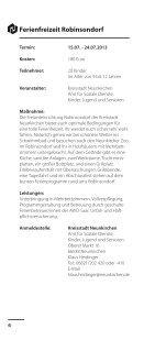 Freizeiten 2013 web - Kreisstadt Neunkirchen - Page 6