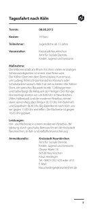Freizeiten 2013 web - Kreisstadt Neunkirchen - Page 7