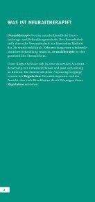 DIE GROSSE KRAFT DER KLEINEN NADEL - Neuraltherapie und ... - Seite 2