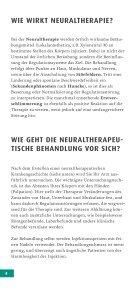 DIE GROSSE KRAFT DER KLEINEN NADEL - Neuraltherapie und ... - Seite 4