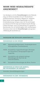 DIE GROSSE KRAFT DER KLEINEN NADEL - Neuraltherapie und ... - Seite 6