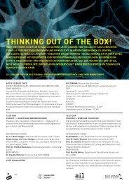 Detailprogramm - Neuroscience Center Zurich