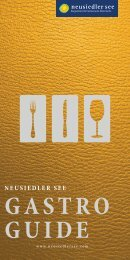 Gastroguide Neusiedler See