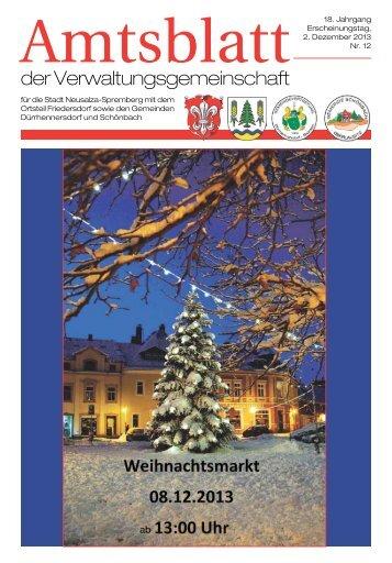 Dezember 2013 - Neusalza-Spremberg