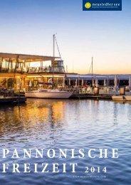 PANNONISCHE FREIZEIT 2014 - Neusiedler See