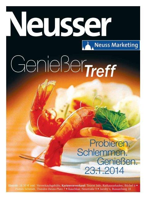 Neusser: Genießer Treff 2014 - Neuss Marketing