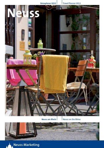 """Reiseplaner """"Neuss am Rhein"""" (3,7 MB) - Neuss Marketing"""
