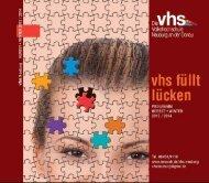 Das vhs-Programm gibt's hier auch zum download - beim ...