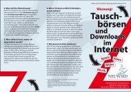 Flyer Tauschboerse