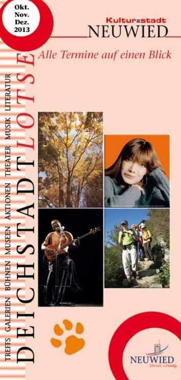 Terminkalender für Oktober, November und ... - Stadt Neuwied