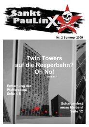 Twin Towers auf die Reeperbahn? Oh No! - DIE LINKE auf St. Pauli
