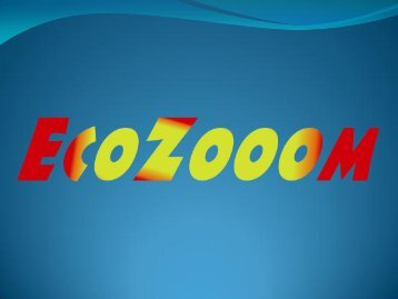 Präsentation der Firma Ecozooom - NewRide