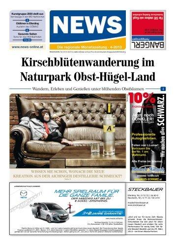 Kirschblütenwanderung im Naturpark Obst ... - NEWS-ONLINE.at