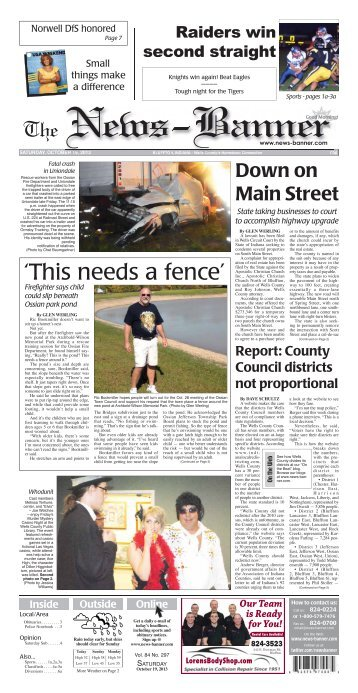 'This needs a fence' - Bluffton News Banner