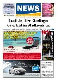 Traditioneller Eferdinger Osterlauf im Stadtzentrum - NEWS-ONLINE.at