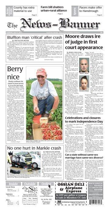 Berry nice - Bluffton News Banner