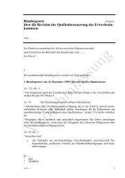 Bundesgesetz Entwurf über die Revision der Quellenbesteuerung ...