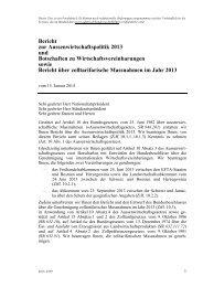 Bericht zur Aussenwirtschaftspolitik 2013 und ... - admin.ch