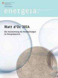 Watt d'Or 2014 - admin.ch