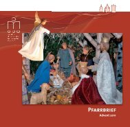 Pfarrbrief St. Laurentius WArendorf Advent 2011