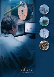Unternehmensbroschüre 2013, Broschüren (3725 kB) - Nexans
