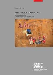 Vision Sachsen-Anhalt 20-xx - nexus - Institut für ...