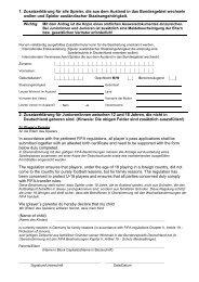 Zusatzerklärung für ausländische Mitbürger - NFV
