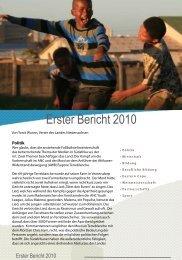 Erster Bericht 2010 - NGlobal