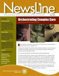 PDF version - National Hospice and Palliative Care Organization