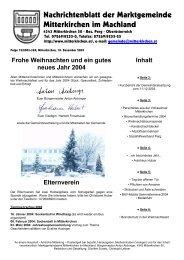 Dezember 2003 - Mitterkirchen im Machland