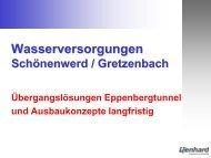 m³/d - Gemeinde Niedergösgen