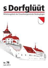 Inhalt 78.indd - Gemeinde Niedergösgen