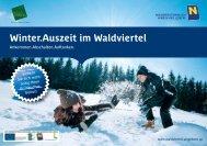 Winter.Auszeit im Waldviertel - Niederösterreich
