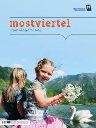 Sommerangebote 2014 - Niederösterreich