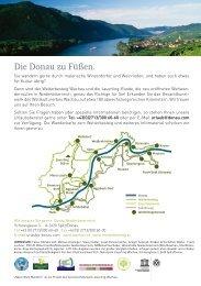 Natur.Wein.Wandern 2013 - Niederösterreich