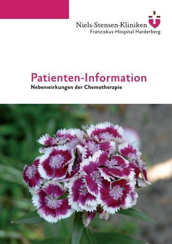 Mögliche Nebenwirkungen einer Chemotherapie - Niels-Stensen ...