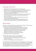 Mögliche Nebenwirkungen einer Chemotherapie - Niels-Stensen ... - Seite 7