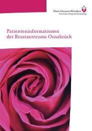 Info-Broschüre Brustzentrum - Niels-Stensen-Kliniken