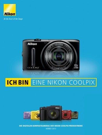 COOLPIX-Produktreihe Herbst 2013 - Nikon Deutschland