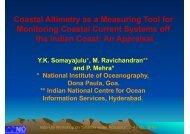 Coastal Altimetry as a Measuring Tool for Monitoring Coastal ...