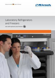 Laboratory Refrigerators and Freezers - AB Ninolab