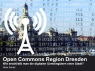 Open Commons Region Dresden - nise81.com | niels seidel