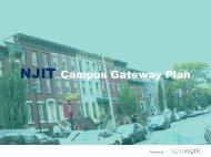NJIT Campus Gateway Plan