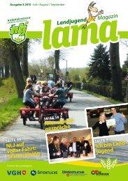 Ausgabe 3 2013 fit fürs Land! - Niedersächsische Landjugend