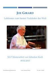 Joe Girard – Lektionen vom besten Verkäufer der Welt - NLP ...