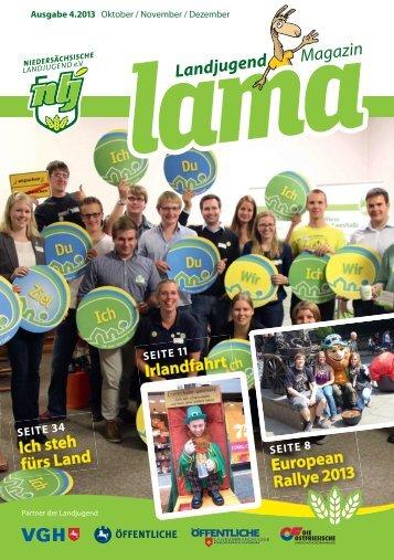 Ausgabe 4 2013 Landesvorstand 2014 - Niedersächsische ...