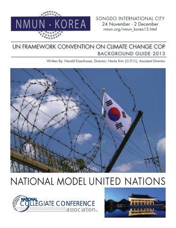 NMUN • KOREA - National Model United Nations